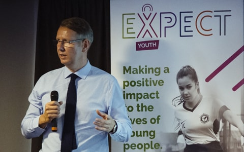 Launch event for <br>Expect Youth