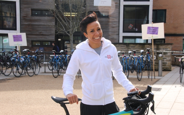 The Dame Kelly Holmes experience