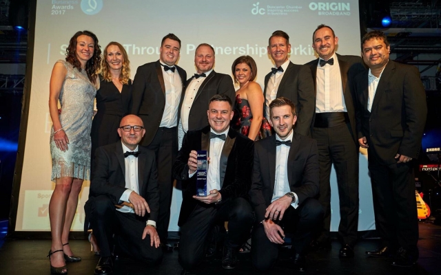 The winners of 2017 Doncaster Chamber awards