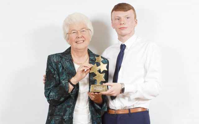 James Halliday: Pride of Rossington Award